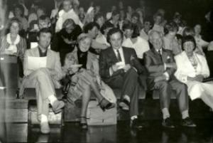 Åpningskonsert for EPTA Norge,i Oslo konserthus 1987